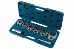 "Laser 7476 8 Piece 1/2"" & 3/4"" Drive Crowsfoot Wrench Set"